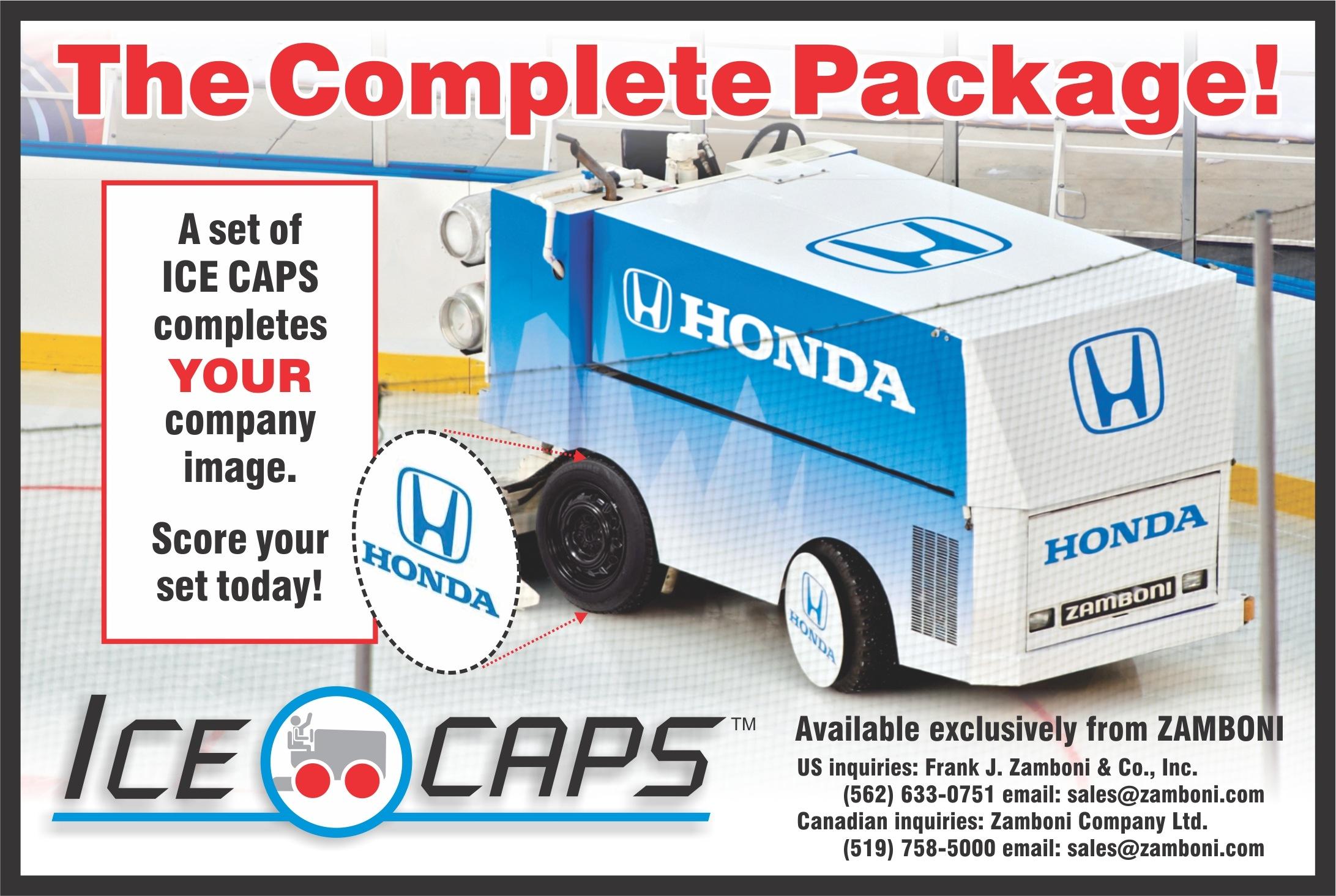 Ice Caps Ad 2012