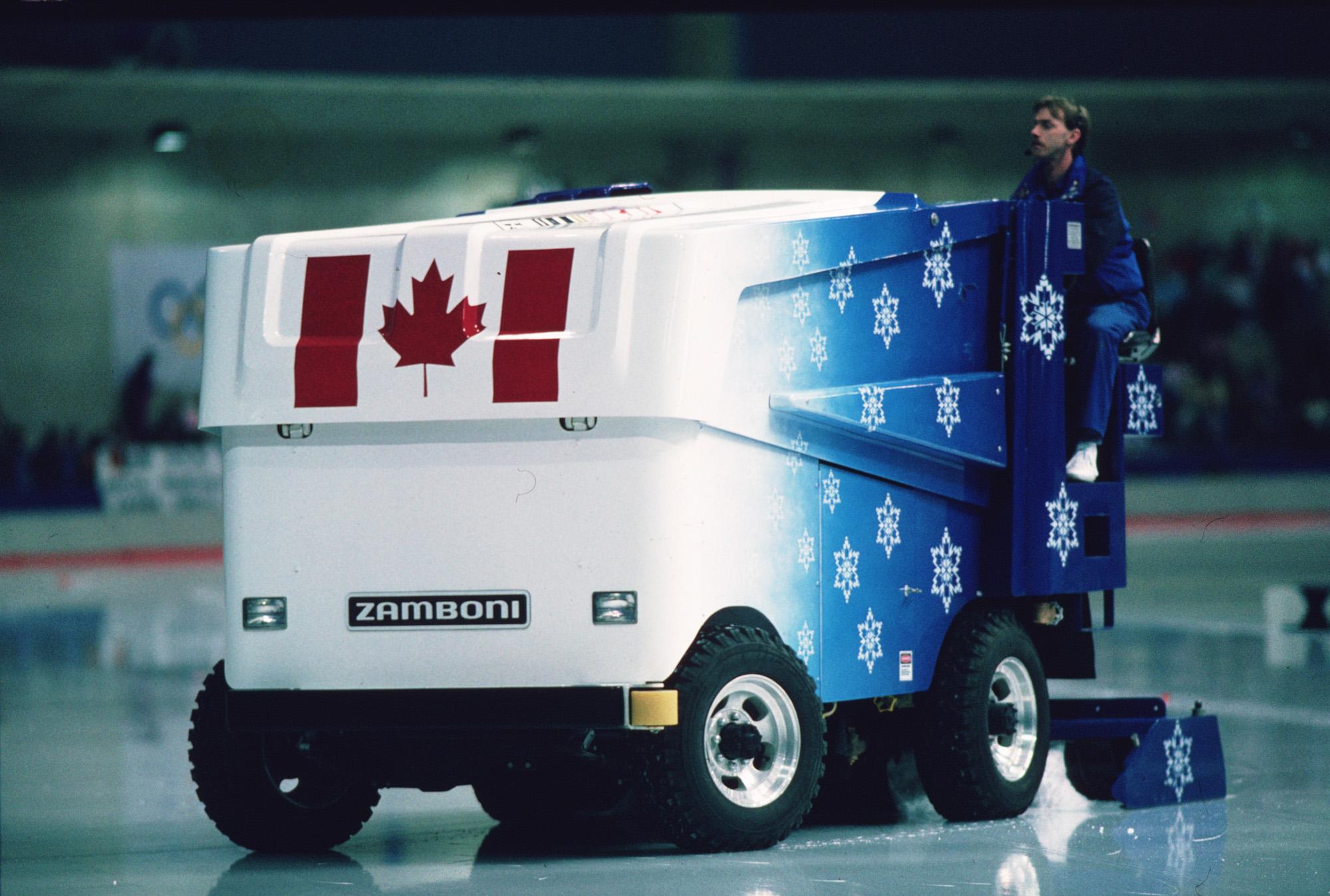 Used Ice Machine >> Winter Olympic Games | Zamboni