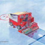 Zamboni illustration-Owl