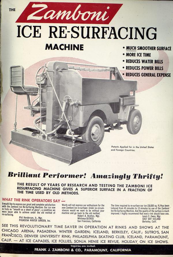 vintage ads zamboni