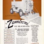 Ad - Zamboni Jeep Vintage Ad