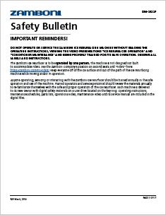 Safety Mailing PDF